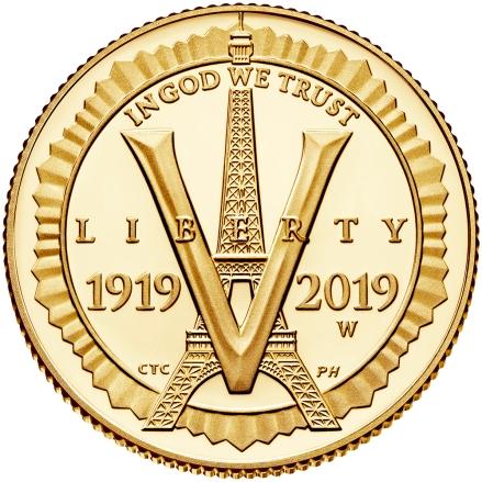 2019-american-legion-100th-anniversary-commemorative-gold-proof-five-dollar-obverse