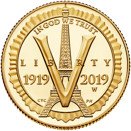 2019-american-legion-100th-anniversary-commemorative-gold-proof-five-dollar-obverse